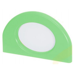 Applicazione portafoto verde.