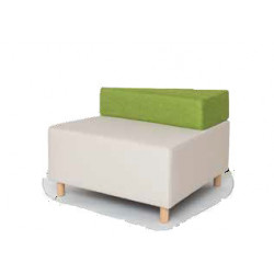 ZigZag beige sofa