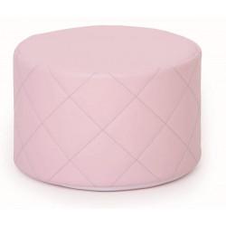 Pouf trapuntato rosa