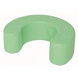 Ferro di cavallo verde.