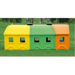 Prolunga 3 vagoni Wagon Toy.