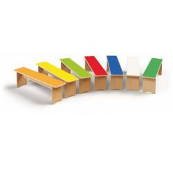 Panchina in legno senza...