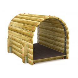 Tunnel in legno 150