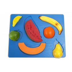 Puzzle frutta 3D.