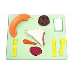 Puzzle pranzo 3D con base...