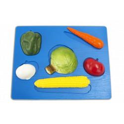 Puzzle verdura 3D.