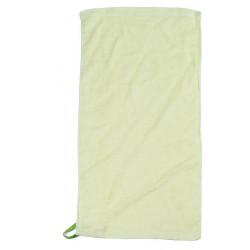 Asciugamano verde.