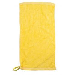 Asciugamano giallo.