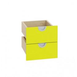 2 Cassetti Serie Cubo