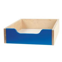 Contenitore legno piccolo - blu.