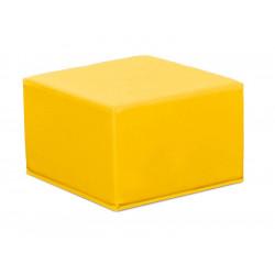 Pouf quadrato nido - giallo.