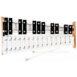 Metallofono cromatico 27 note.