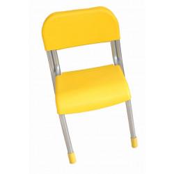 Sedia Sara Nido colore giallo.