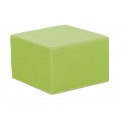 Pouf quadrato nido - verde.
