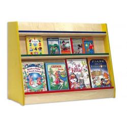 Libreria Betulla bifacciale.