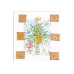 Timbri in legno - Natale, 6...
