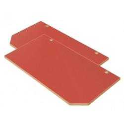 Ante Faggio (L) colore rosso