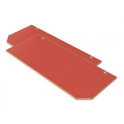 Ante Faggio (X) colore rosso.