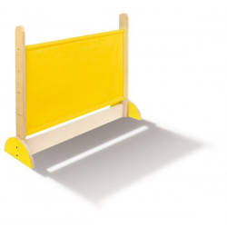 Divisorio basso giallo.