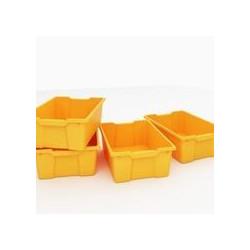 Vaschette grandi arancio -...