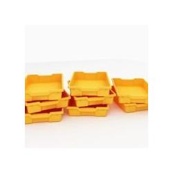 Vaschette piccole arancio -...