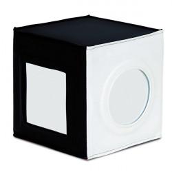 Cubo con specchi bianco e nero