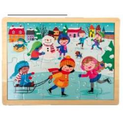 Puzzle 4 stagioni: Inverno.