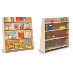 Libreria Betulla bifacciale...