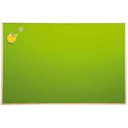 Bacheca in sughero verde.