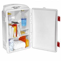 Cassetta medica portatile per 2 persone.