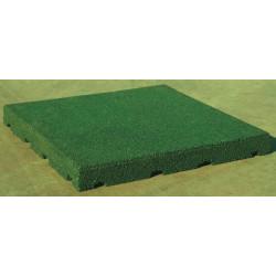 Pavimentazione antitrauma verde 20 mm.