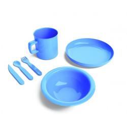 Set stoviglie completo - blu.