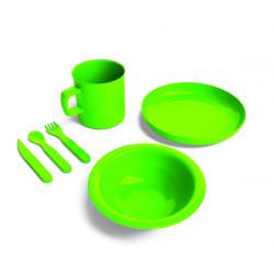 Set stoviglie completo - verde.