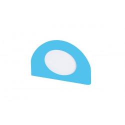 Applicazione portafoto blue.